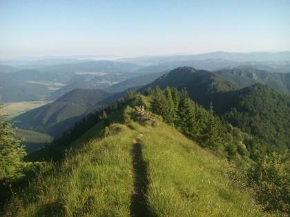 vrcholky Baraniarky a Žitné z Kraviarskeho